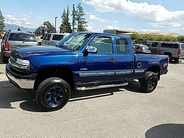 2000 chevrolet silverado 1500 ls 3dr ls 4wd extended cab sb for sale in evergreen montana. Black Bedroom Furniture Sets. Home Design Ideas