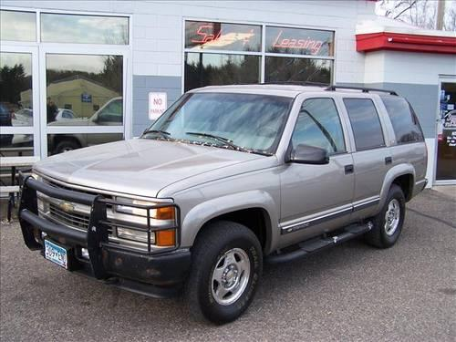 2000 chevrolet tahoe suv z71 for sale in somerset wisconsin classified. Black Bedroom Furniture Sets. Home Design Ideas