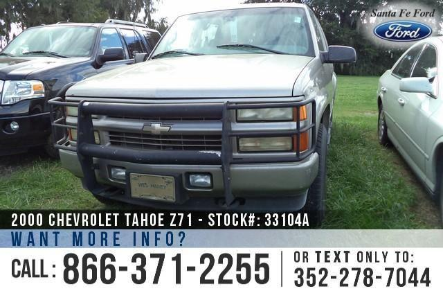 2000 Chevrolet Tahoe Z71 - 145K Miles - Finance Here!