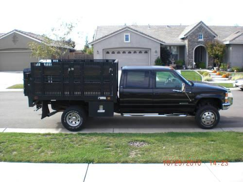 2000 Chevy 1 ton flatbed for Sale in Olivehurst ...