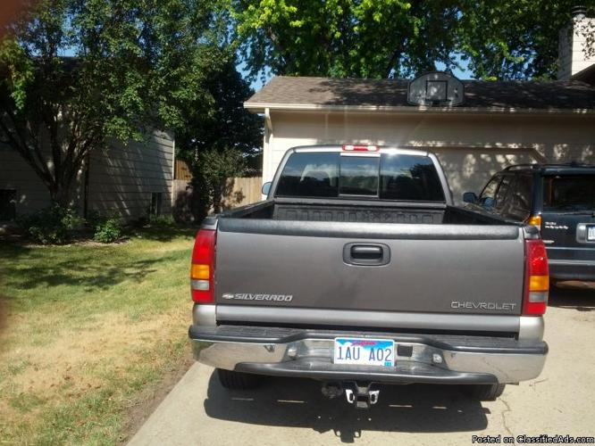 2000 Chevy Silverado 1500 For Sale In Sioux Falls  South