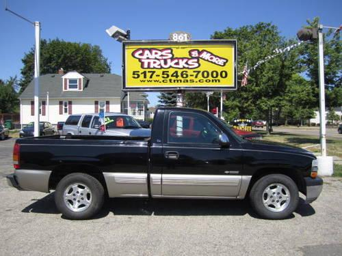 2000 chevy silverado 1500 ls 4x2 v8 for sale in howell michigan classified. Black Bedroom Furniture Sets. Home Design Ideas