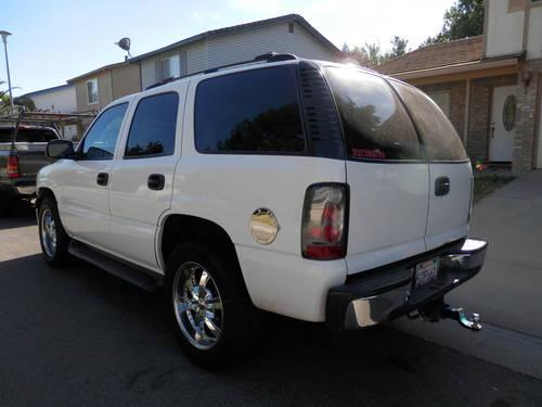 2000 chevy tahoe new white 4x4 20 39 s for sale in sacramento california classified. Black Bedroom Furniture Sets. Home Design Ideas