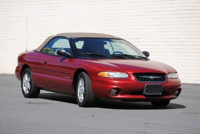 2000 chrysler sebring jxi for sale in decatur georgia. Black Bedroom Furniture Sets. Home Design Ideas