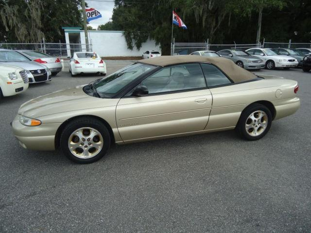 2000 chrysler sebring jxi for sale in tampa florida. Black Bedroom Furniture Sets. Home Design Ideas