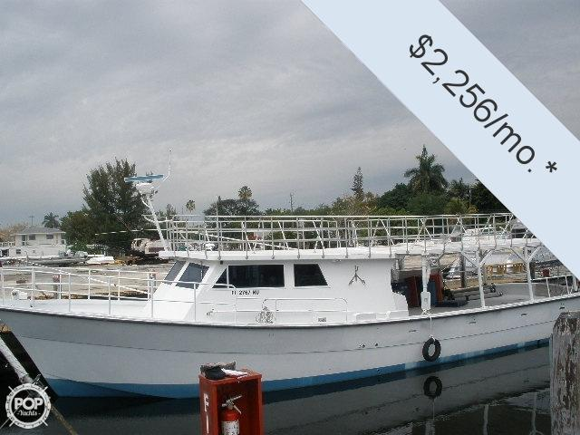 2000 defender 60 commercial fishing boat for sale in