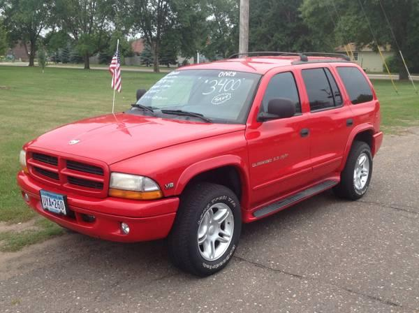 2000 dodge durango 5 9 r t leather loaded dvd for sale in cambridge minnesota. Black Bedroom Furniture Sets. Home Design Ideas