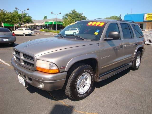 2000 dodge durango slt plus for sale in sacramento. Black Bedroom Furniture Sets. Home Design Ideas