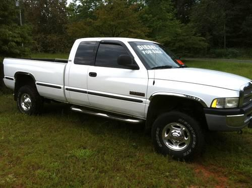 2000 dodge ram 2500 cummins turbo diesel automatic 4x4 quad cab for sale in cleveland. Black Bedroom Furniture Sets. Home Design Ideas