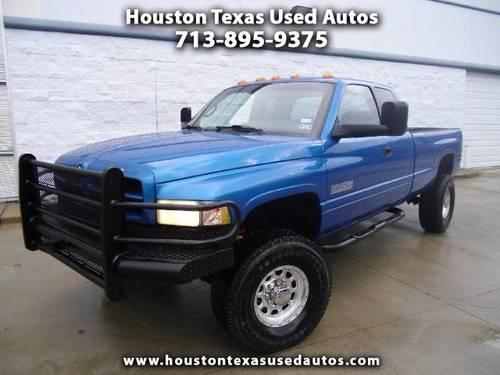 2000 dodge ram 2500 quad cab long bed 4wd diesel cummin engine for sale in houston. Black Bedroom Furniture Sets. Home Design Ideas