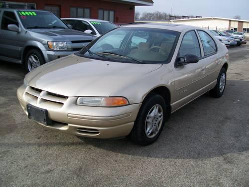 2000 dodge stratus se for sale in mchenry illinois. Black Bedroom Furniture Sets. Home Design Ideas