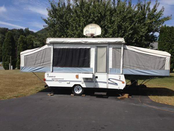 2000 Eagle by Jayco 10ft. Pop-Up Camper - $2500