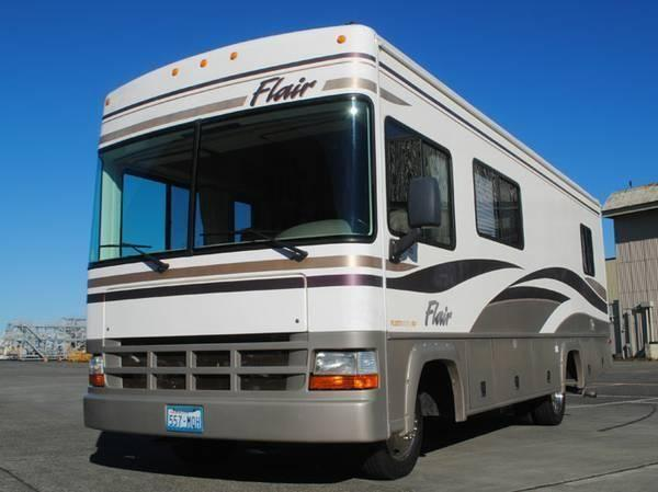 Travel Trailers For Sale Sacramento >> 2000 flair 25f motorhome with slideout and low miles.sell ...
