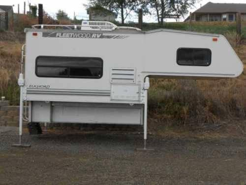 2000 Fleetwood Elkhorn Truck Camper In Yakima Wa For Sale