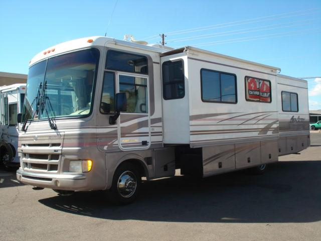 2000 Fleetwood Pace Arrow Double Slide Gas Class A For