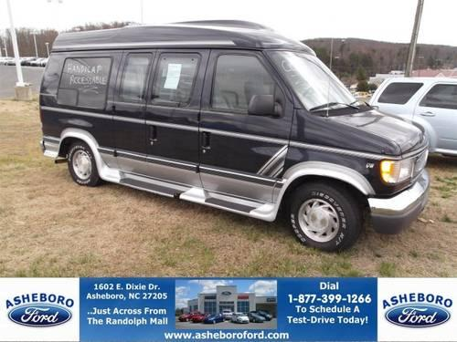 2000 Ford Econoline Conversion Van Handicap Access