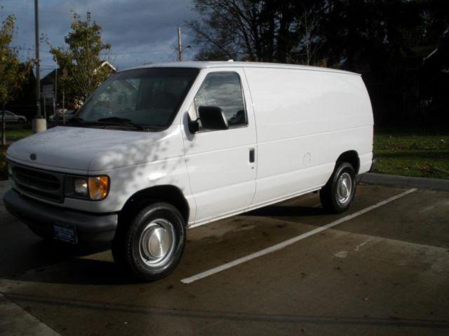 2000 ford econoline e250 cargo van for sale in portland oregon classified. Black Bedroom Furniture Sets. Home Design Ideas