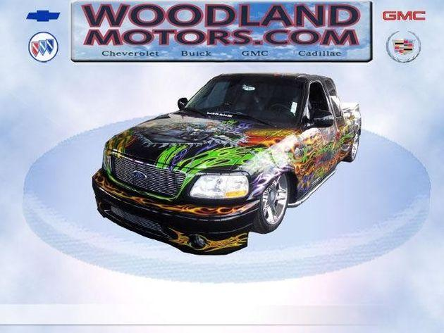 2000 ford f 150 harley davidson pickup for sale in for Woodland motors used cars