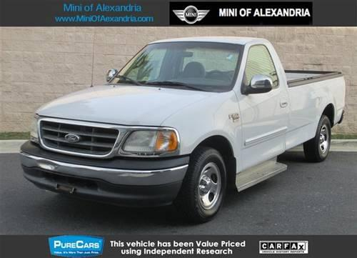 2000 ford f 150 truck reg cab 120 xlt truck for sale in alexandria virginia classified. Black Bedroom Furniture Sets. Home Design Ideas