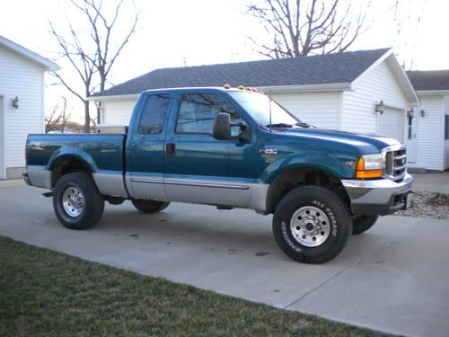2000 ford f250 4x4 xlt supercab for sale in clarksburg illinois classified. Black Bedroom Furniture Sets. Home Design Ideas