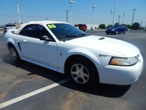 Joe Cooper Ford Shawnee >> 2000 FORD MUSTANG 2 DOOR CONVERTIBLE for Sale in Shawnee ...