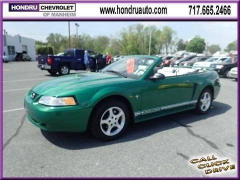 2000 Ford Mustang 2 Door Convertible For Sale In