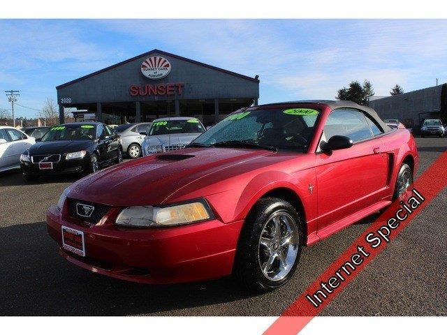 2000 ford mustang base 2dr convertible for sale in auburn washington classified. Black Bedroom Furniture Sets. Home Design Ideas