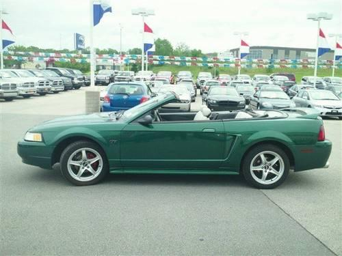 2000 ford mustang convertible gt for sale in waukesha. Black Bedroom Furniture Sets. Home Design Ideas