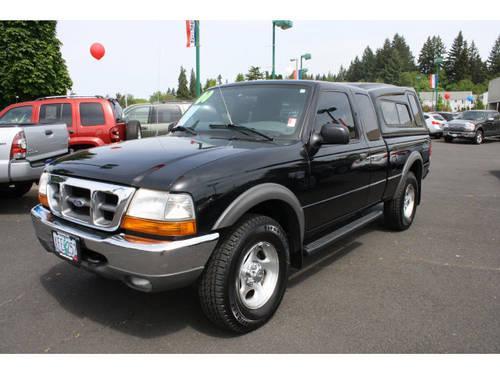 Toyota Salem Oregon >> 2000 Ford Ranger Super Cab Pickup 4X4 XLT for Sale in ...