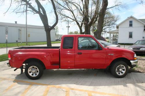 2000 Ford Ranger Xlt Ext Cab Step Side 123000 Mile 3 L