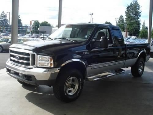 2000 Ford Super Duty F-250 Pickup Truck F250 SUPER DUTY