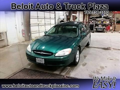 2000 FORD TAURUS 4 DOOR SEDAN