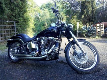 2000 Harley-Davidson Deuce Black & Chrome - Free Delivery - good condition
