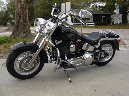 2000 HARLEY-DAVIDSON FLSTF 1450cc FATBOY BLACK