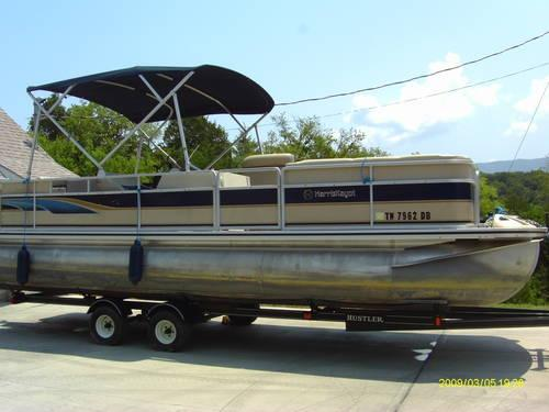 24 ft pontoon boat for sale michigan used