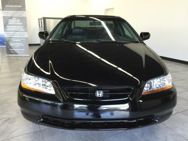 2000 honda accord ex coupe black leather sunroof all pwr nice for sale in gold river. Black Bedroom Furniture Sets. Home Design Ideas