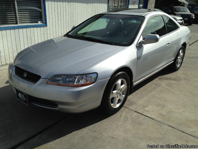 2000 honda accord ex v6 coupe for sale in north hollywood california classified. Black Bedroom Furniture Sets. Home Design Ideas