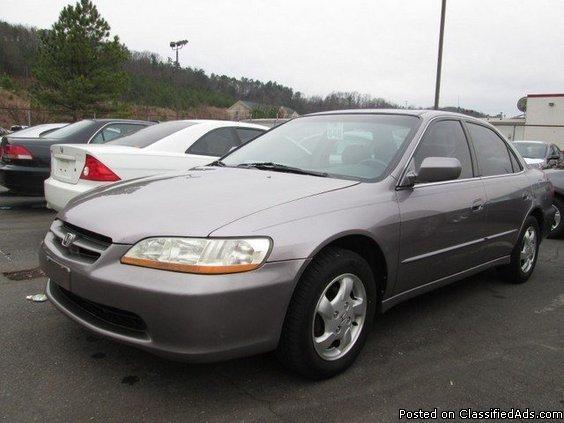 2000 honda accord ex w leather for sale in cartersville georgia classified. Black Bedroom Furniture Sets. Home Design Ideas