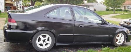 2000 Honda Civic Coupe Dx And 1999 Honda Civic Lx Hatch For Sale In