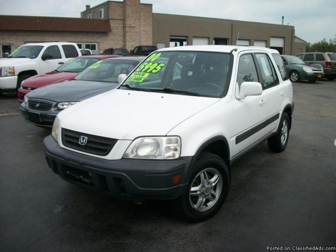 2000 Honda Cr V Ex 4wd For Sale In Lockport New York