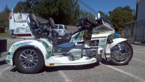 2000 Honda Goldwing SE 1500 Trike Cruiser in Pensacola,