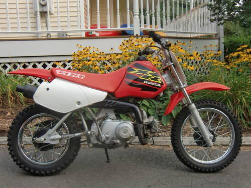 2000 honda xr70r for sale in andover connecticut classified. Black Bedroom Furniture Sets. Home Design Ideas