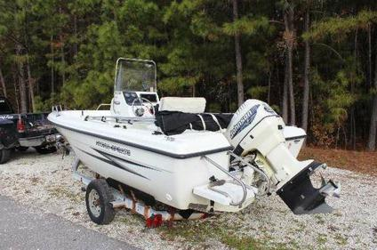 2000 hydra sports 180cc fishing boat w 115hp motor for Boat motors for sale in sc