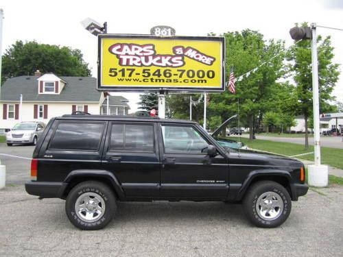 2000 jeep cherokee 4x4 4dr clean autocheck no accidents for sale in howell michigan. Black Bedroom Furniture Sets. Home Design Ideas