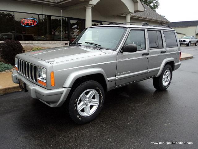 2000 jeep cherokee limited for sale in portage michigan. Black Bedroom Furniture Sets. Home Design Ideas