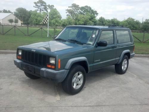2000 jeep cherokee se 2 door 2wd suv 86k miles warranty for sale in spring texas classified. Black Bedroom Furniture Sets. Home Design Ideas