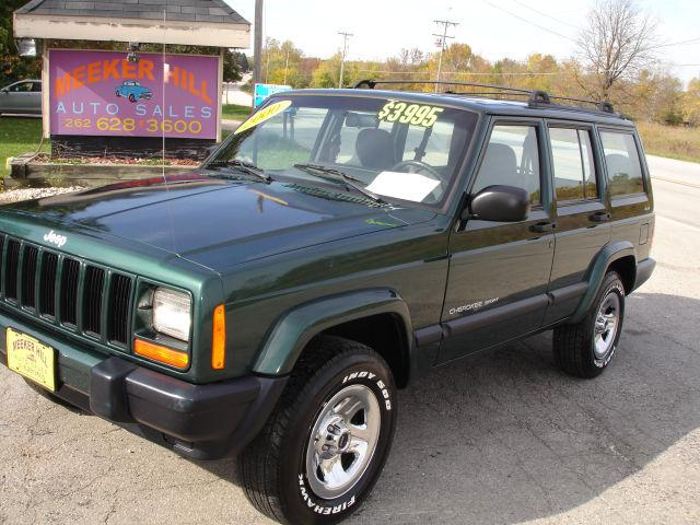 2000 jeep cherokee sport 4wd for sale in germantown wisconsin. Cars Review. Best American Auto & Cars Review