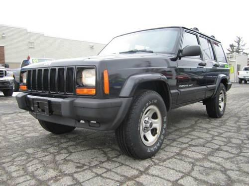2000 jeep cherokee sport 4x4 clean for sale in howell michigan classified. Black Bedroom Furniture Sets. Home Design Ideas