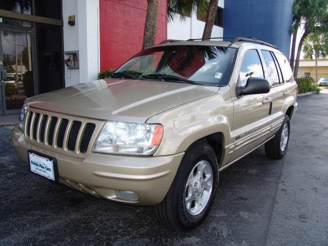 2000 jeep grand cherokee limited for sale in hollywood florida classified. Black Bedroom Furniture Sets. Home Design Ideas