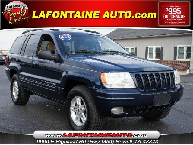 2000 jeep grand cherokee limited for sale in howell michigan classified. Black Bedroom Furniture Sets. Home Design Ideas
